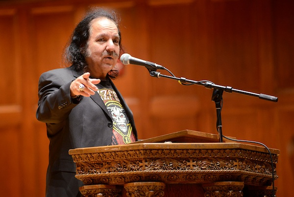 Ron Jeremy Speaks to College Republicans