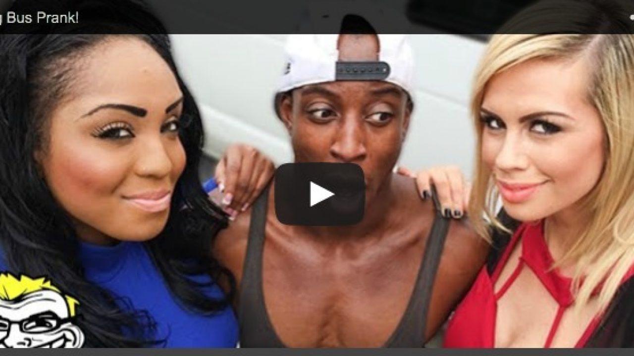 Bait Bus Porn Stars dude's 'bang bus' prank video is an actual gay porn series