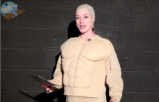 Porn star Stoya re-enacts great wrestling speeches