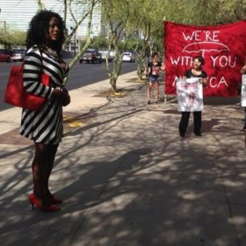 Monica Jones guilty of walking while black and trans