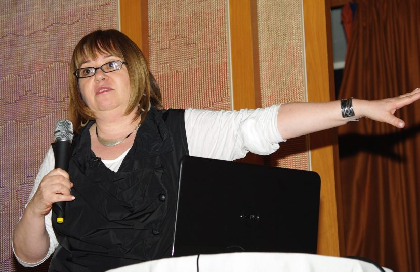 """Gail Dines: """"tie them down, piece by piece, with legislation"""" #stopAB1576"""