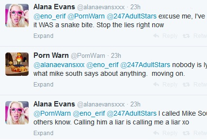 We're 'way over 95% certain' Mike South and Alana Evans are liars