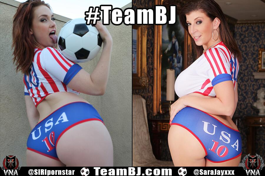Siri and Sara Jay's TeamBJ World Cup Twitter Pledge Goes to the Finals