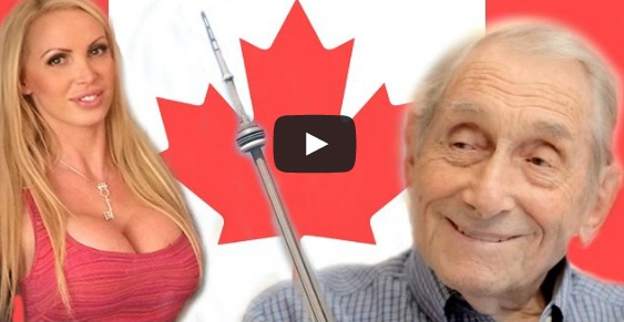 Nikki Benz Tries To Win Grandpa's Vote In 'All For Fun' Toronto Mayoral Campaign Video