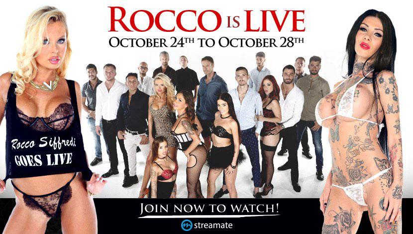 Rocco Siffredi is Live