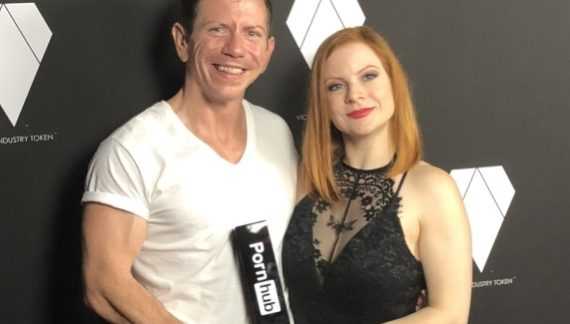 Lady Olivia Fyre Wins 'Top Threesome Performer' At The Pornhub Awards