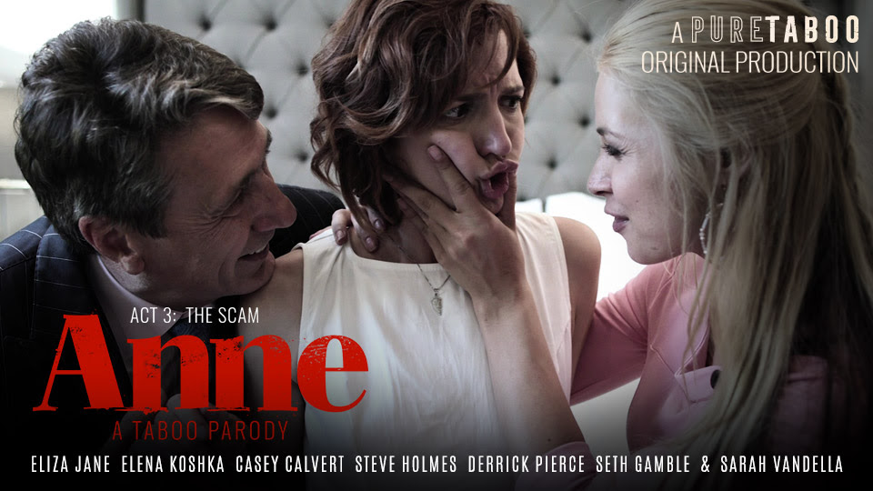 Pure Taboo's Anne, A Taboo Parody, Concludes with Act Three: 'The Scam'
